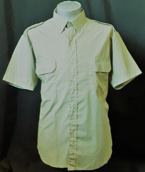 Yakka Career Apparel Khaki shirt, poly/cotton, size 2XL