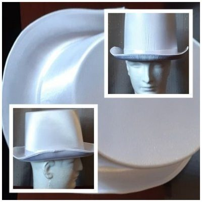 White Top Hat from Carnival Costume Products