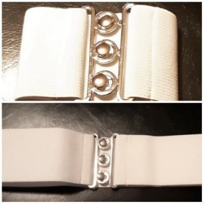 Hell Bunny Stretchy 50's style belt, poly/ elastine, size S