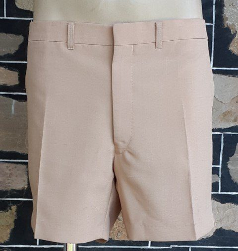 """1970's Shorts, Caramel, polyester by 'City Club' size 38"""""""